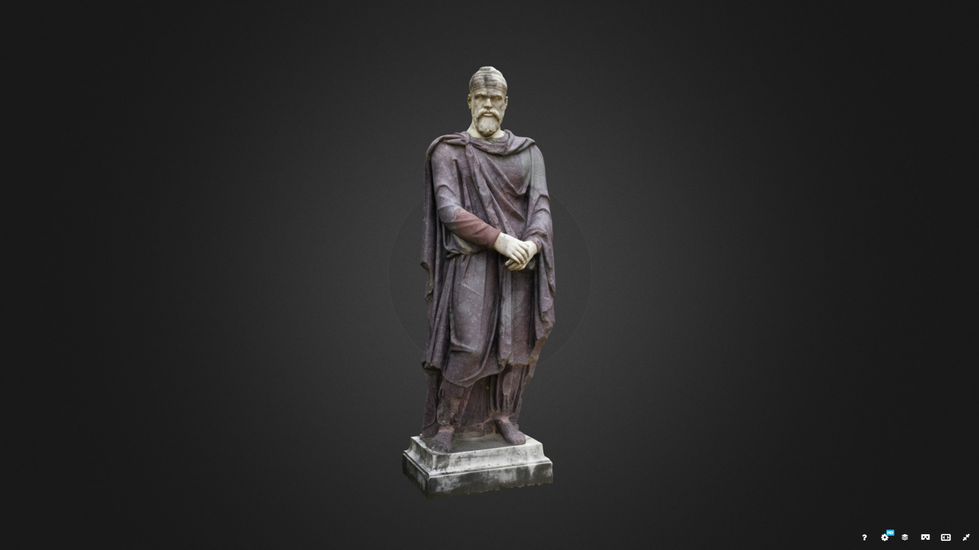 Statue of a dacian by kemcclin
